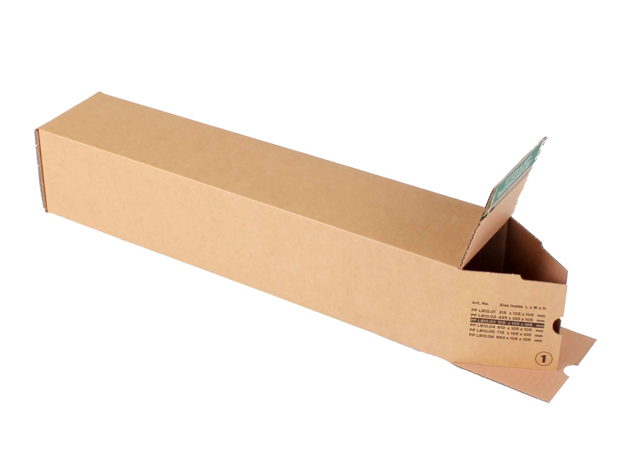 longBOX M Universalhülse 530x110x110 mm DIN B2