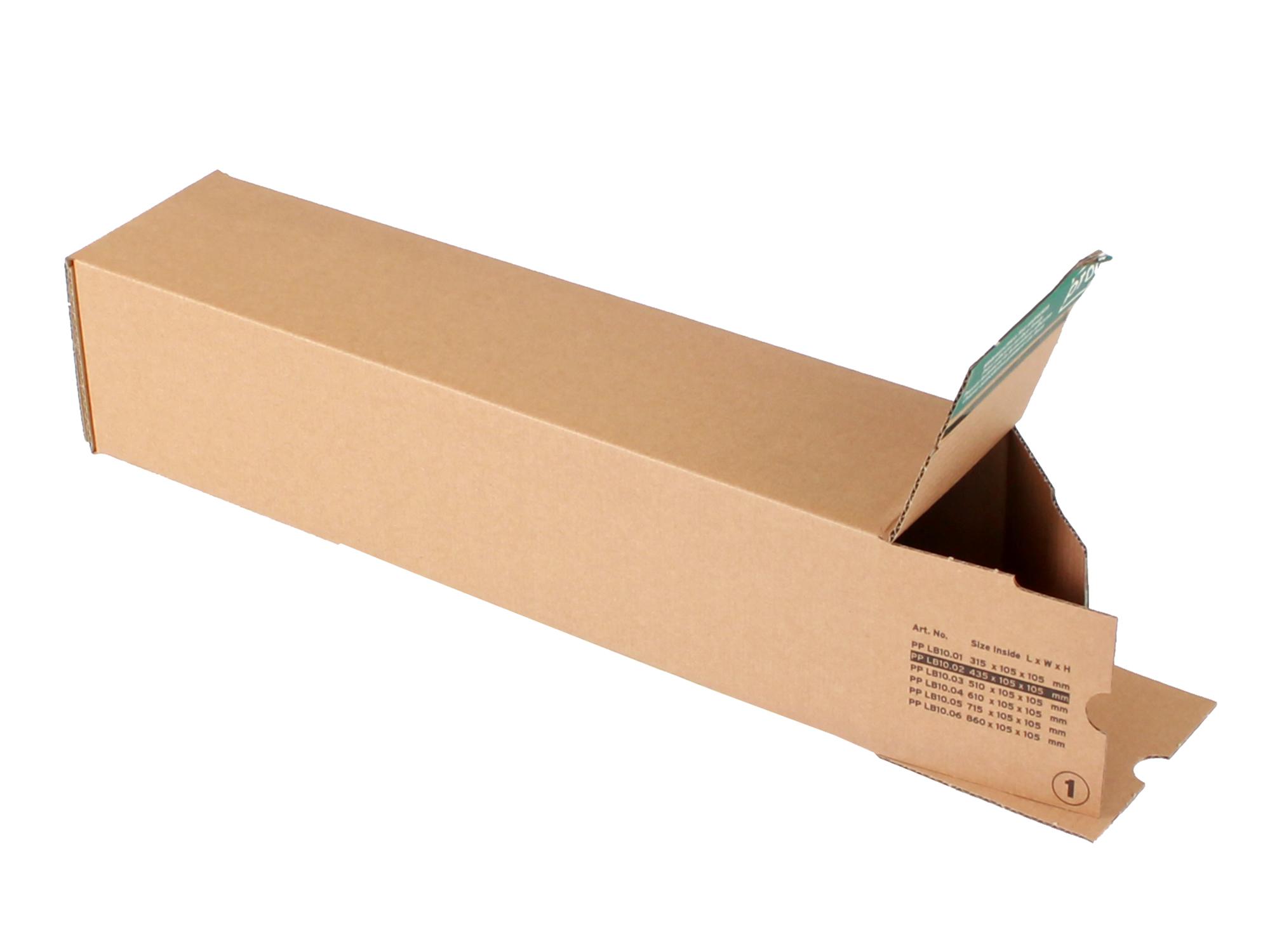 longBOX M Universalhülse 455x110x110 mm DIN A2