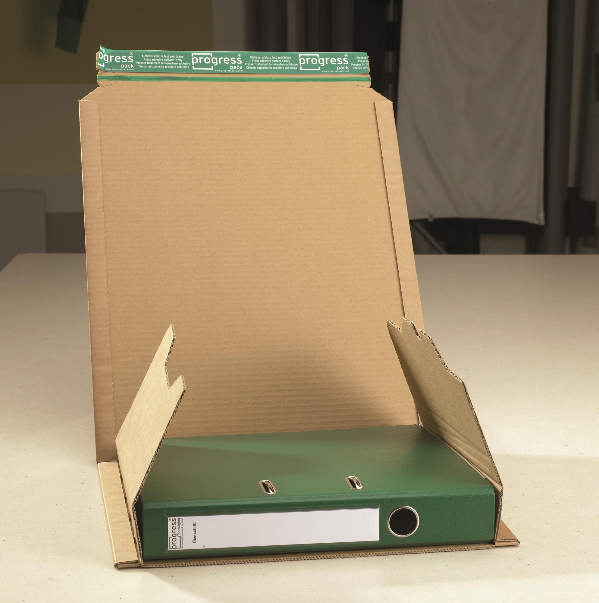 Ordner-Versandverpackung 370x290x80