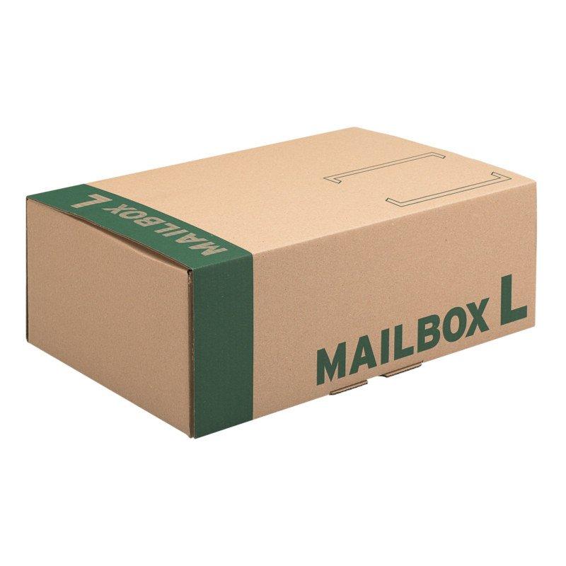 MAILBOX L Post Versandkarton 400x261x150 mm