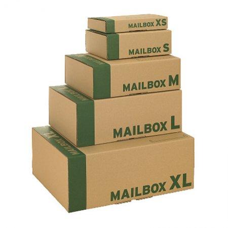 MAILBOX XS Post Versandkarton 247x157x45 mm  DIN A5