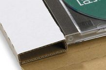 CD-Jewel-Mailer (ohne Fenster) 228x130x17 mm