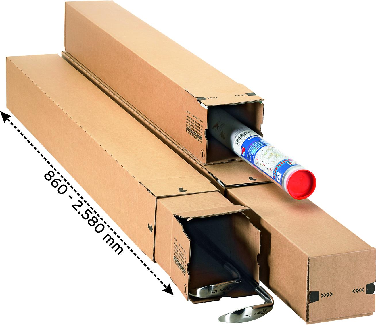 longBOX TELESKOP M 880x116x116 mm